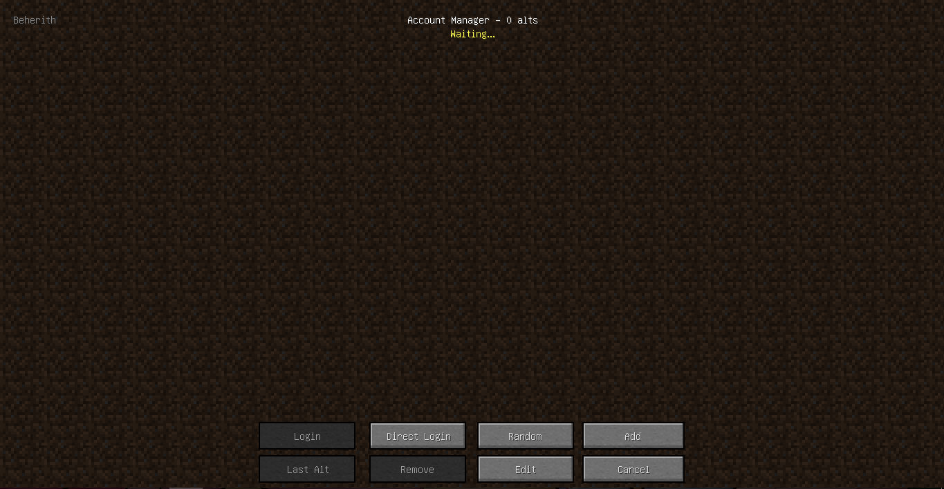 Hacked client ETB for Minecraft 1 8