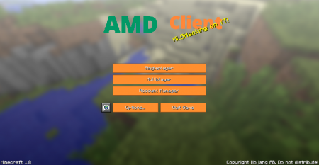 Hacked client AMD for Minecraft 1 8