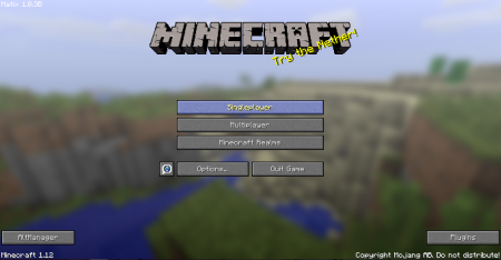 Hacked client Matix for Minecraft 1 12